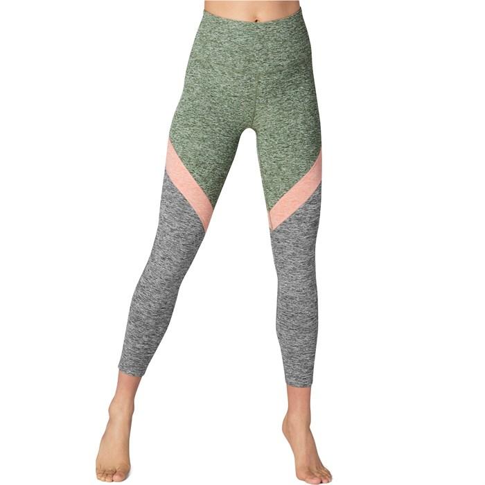 d0a6afc53faca Beyond Yoga - Spacedye Tri-Panel High Waisted Midi Leggings - Women's ...