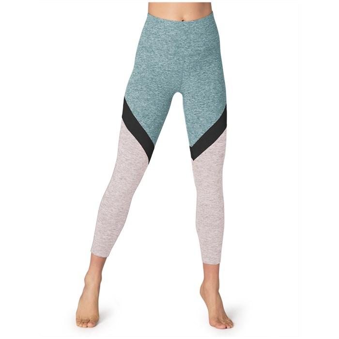 Beyond Yoga - Spacedye Tri-Panel High Waisted Midi Leggings - Women's