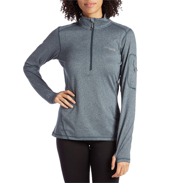 Columbia - Titanium Diamond Peak® Half Zip Shirt - Women's