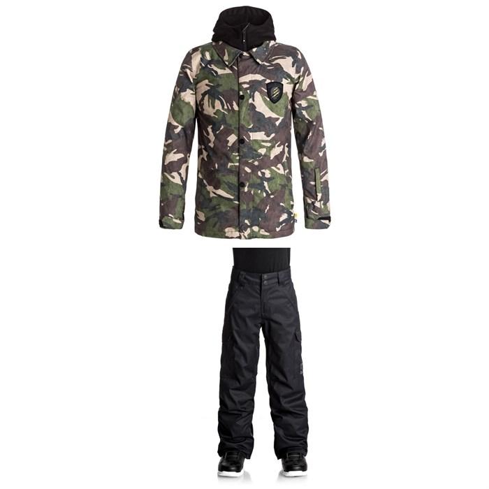 DC - Cash Only Jacket + Banshee Pants - Boys'