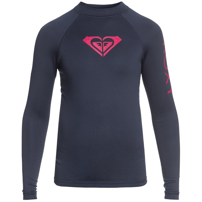 Roxy - Whole Hearted Long-Sleeve Rashguard - Girls'