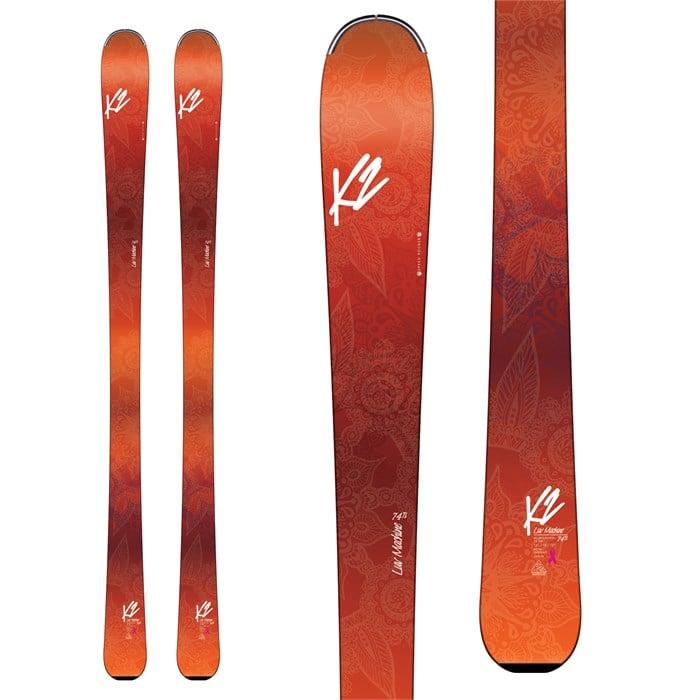 K2 - LUV Machine 74Ti Skis - Women's 2017