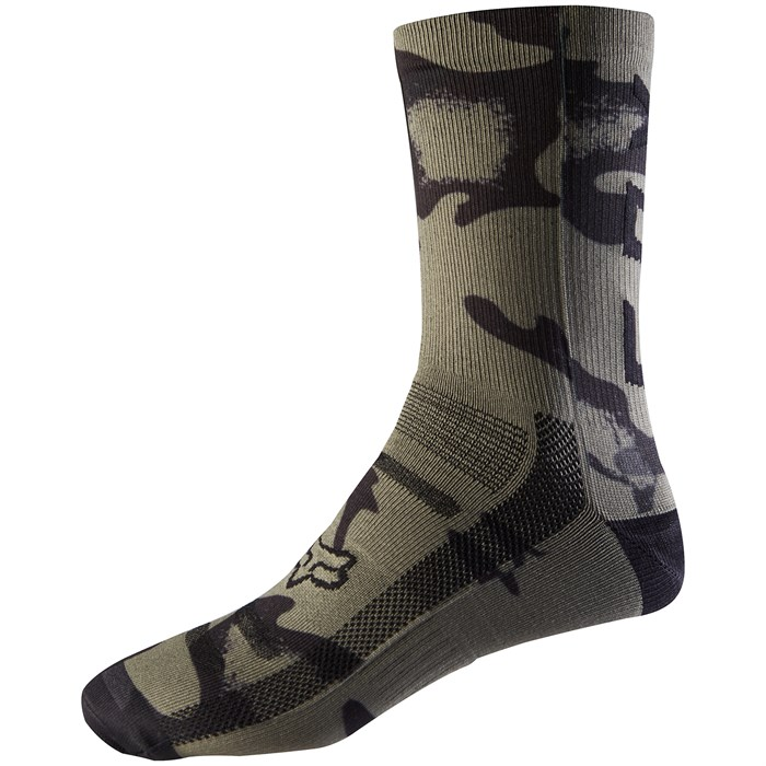 "Fox - 8"" Print Trail Bike Socks"