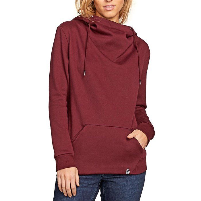 Volcom - Walk On By High Neck Hoodie - Women's