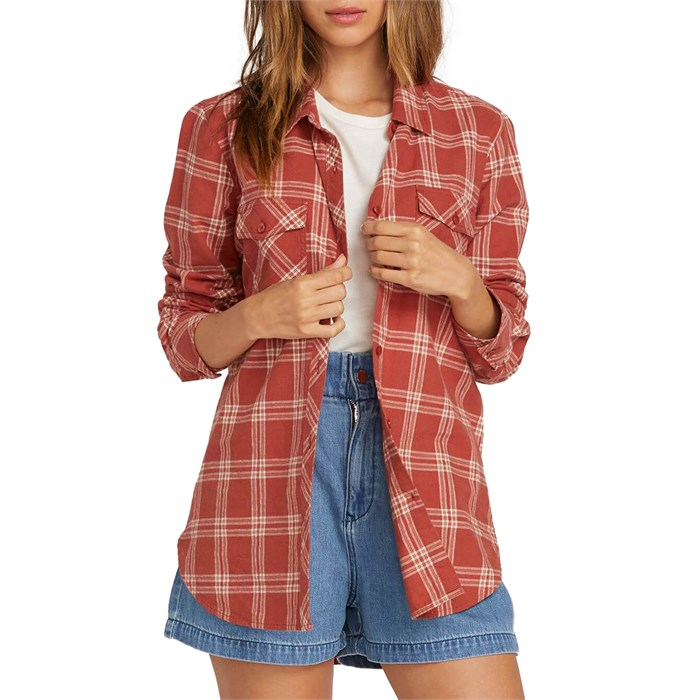 Volcom - Getting Rad Plaid Shirt - Women's