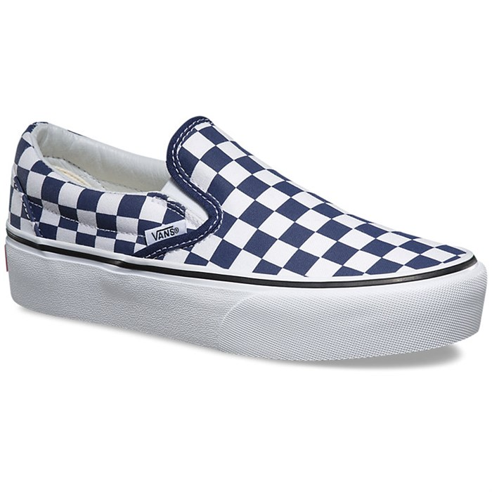 2bd80dabae85 Vans - Classic Slip-On Platform Shoes - Women s ...