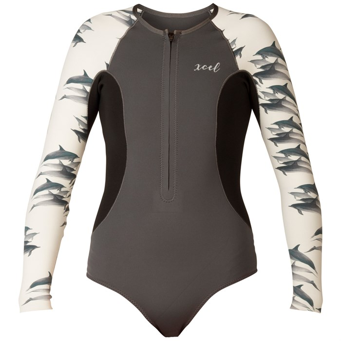 XCEL - Ocean Ramsey Axis 1.5mm Long Sleeve Front Zip Springsuit - Women's