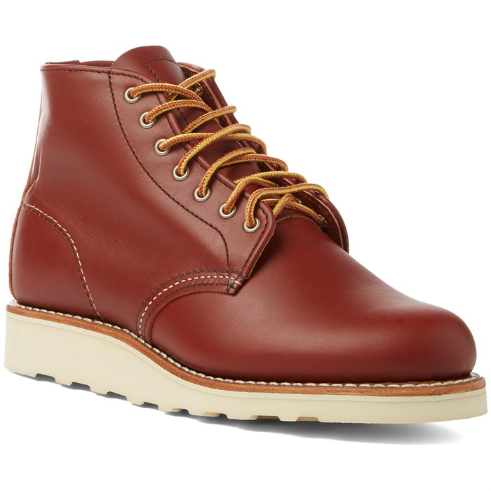 Red Wing - 6-Inch Round Toe Boots - Women's