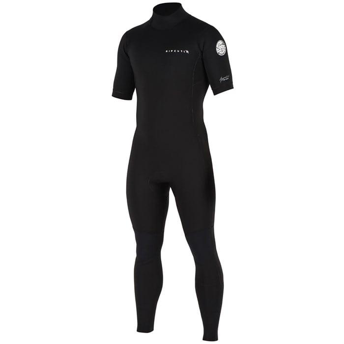 Rip Curl - 2mm Aggrolite Short Sleeve Back Zip Wetsuit ... 738597dd8