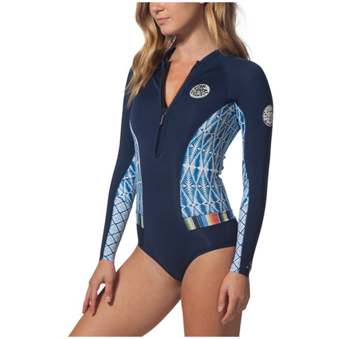Rip Curl - 1mm G-Bomb Long Sleeve Bikini Cut Springsuit - Women s ... 6dc66b48b