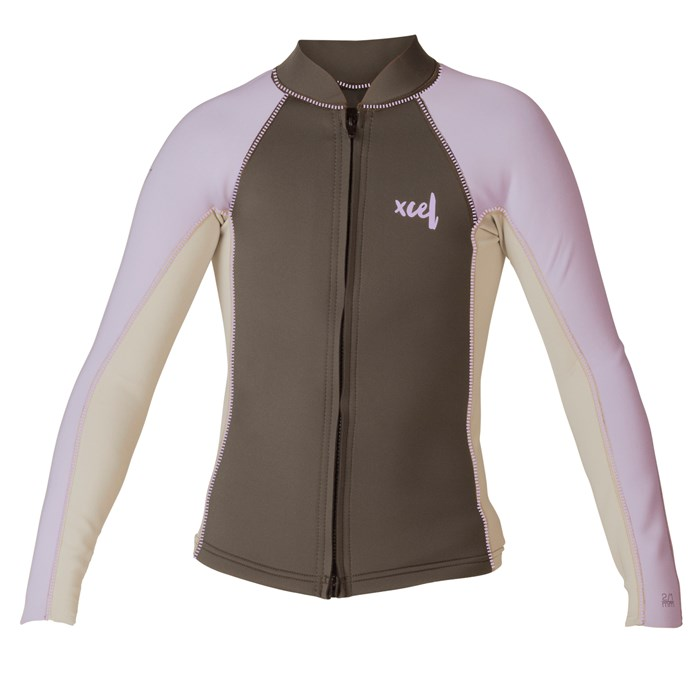 XCEL - 2/1mm Axis Long Sleeve Wetsuit Jacket - Kids'