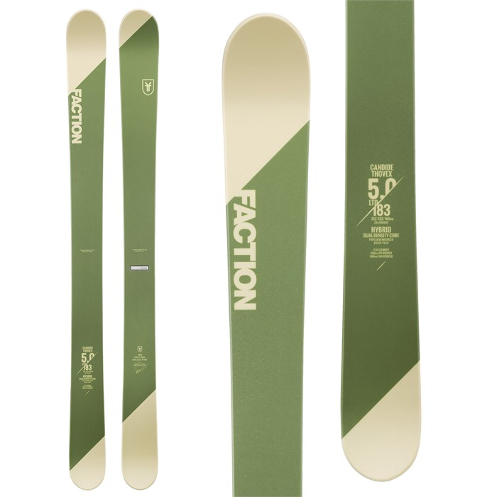 Faction - Candide 5.0 LTD Skis 2019