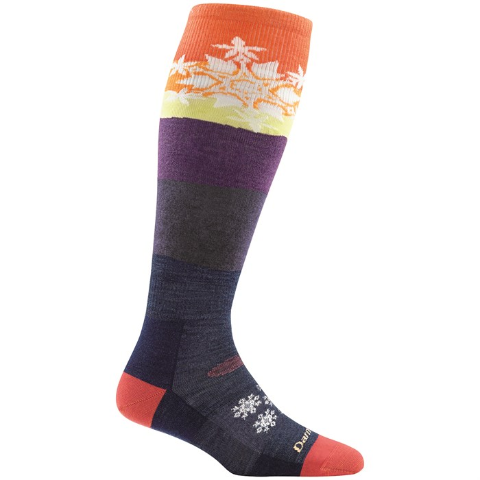 Darn Tough - Snowflake Over-the-Calf Light Socks - Women's