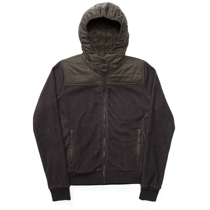 Holden - Sherpa Hybrid Zip Up Hoodie - Women's