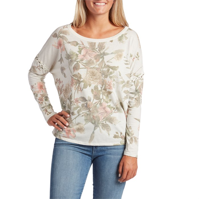 Chaser - Vintage Jersey Lace-Up Dolman Shirt - Women's