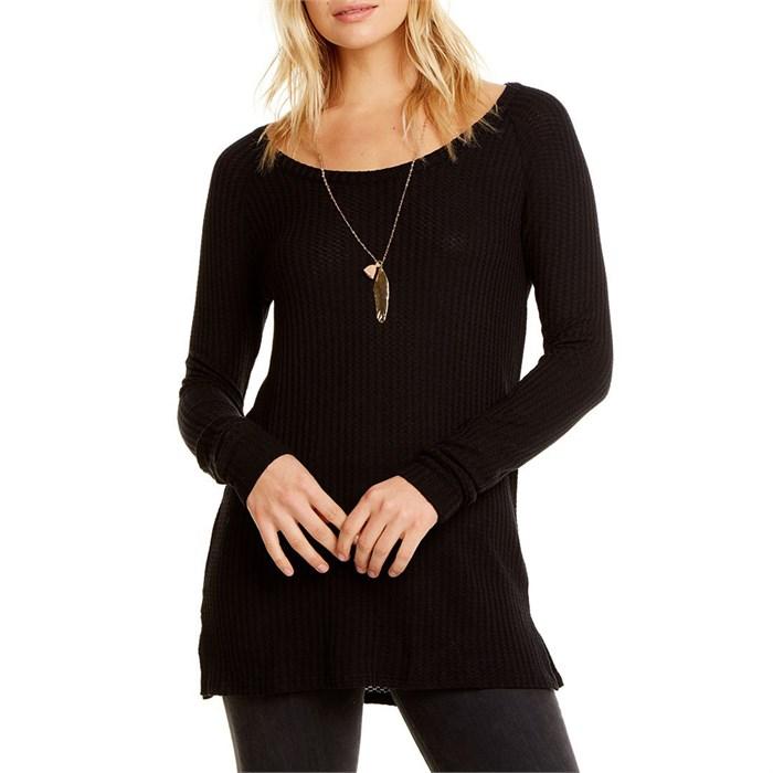 Chaser - Thermal Crewneck Raglan Shirt - Women's