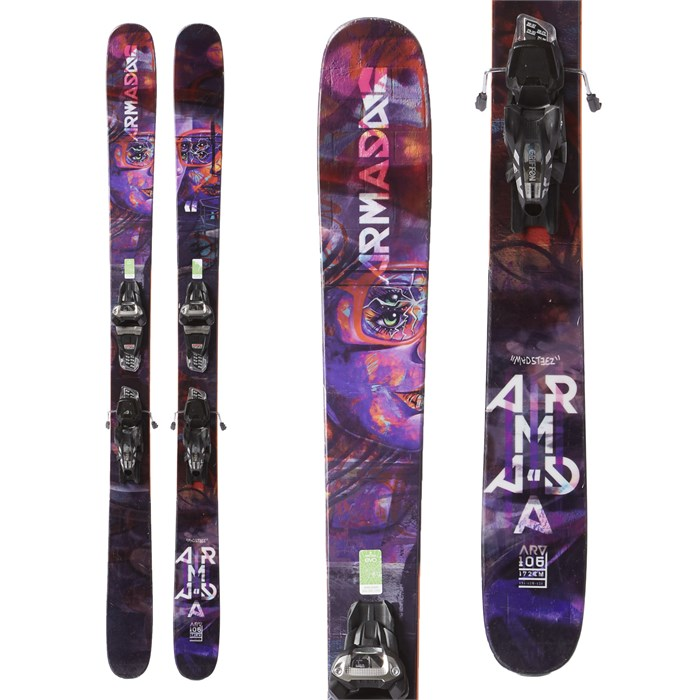 Armada ARV 106 Skis + Marker Griffon Demo Bindings 2018