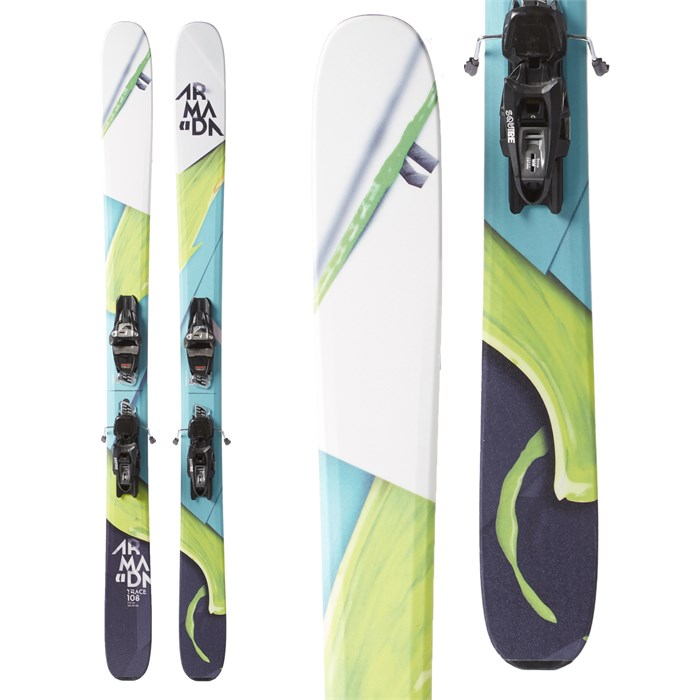 Armada Trace 108 Skis + Marker Griffon Demo Bindings