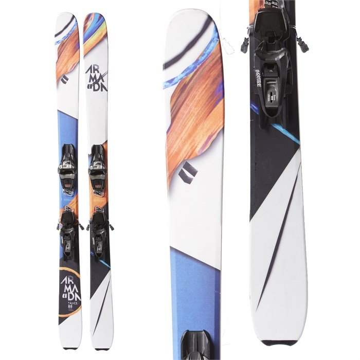 Armada Trace 88 Skis + Marker Squire Demo Bindings