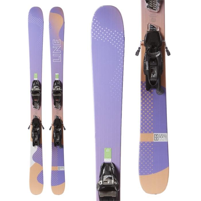 Line Skis Soulmate 92 Skis + Marker Squire Demo Bindings