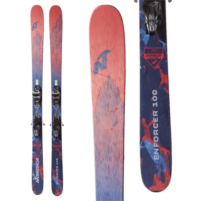 Nordica Enforcer 100 Skis + Marker Griffon Demo Bindings