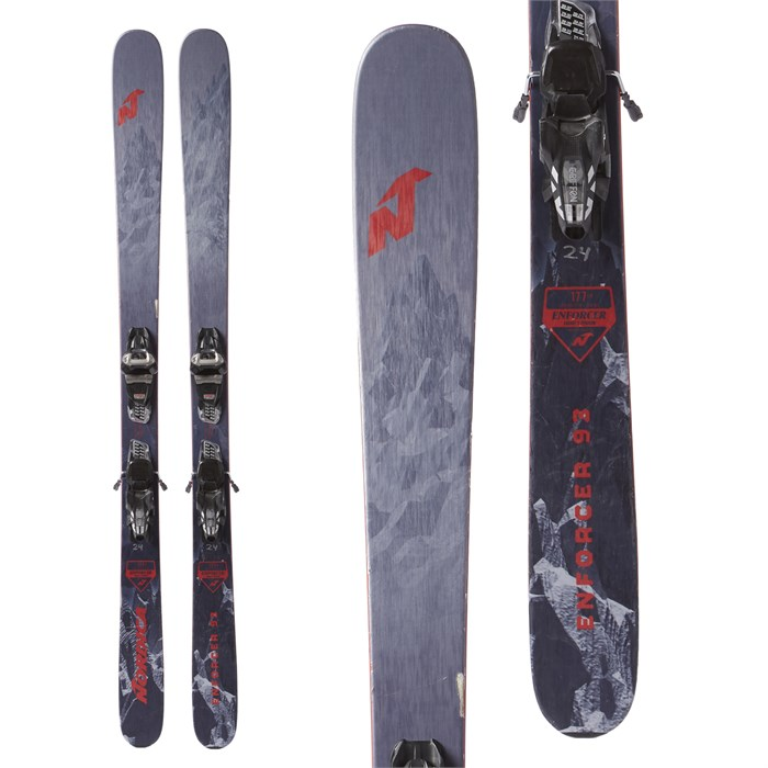 Nordica Enforcer 93 Skis + Marker Griffon Demo Bindings