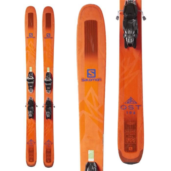 Salomon QST 106 Skis + Marker Griffon Demo Bindings 2018