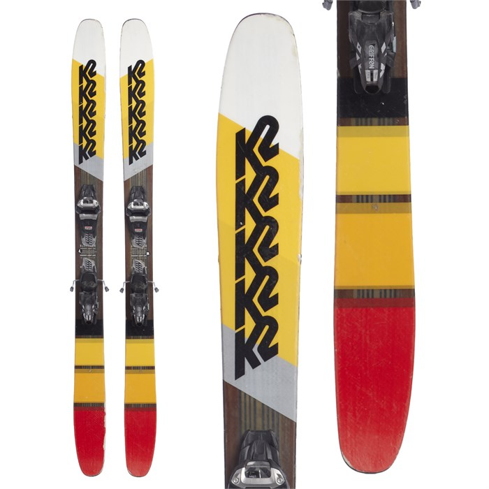 K2 - Marksman Skis + Marker Griffon Demo Bindings 2018 - Used