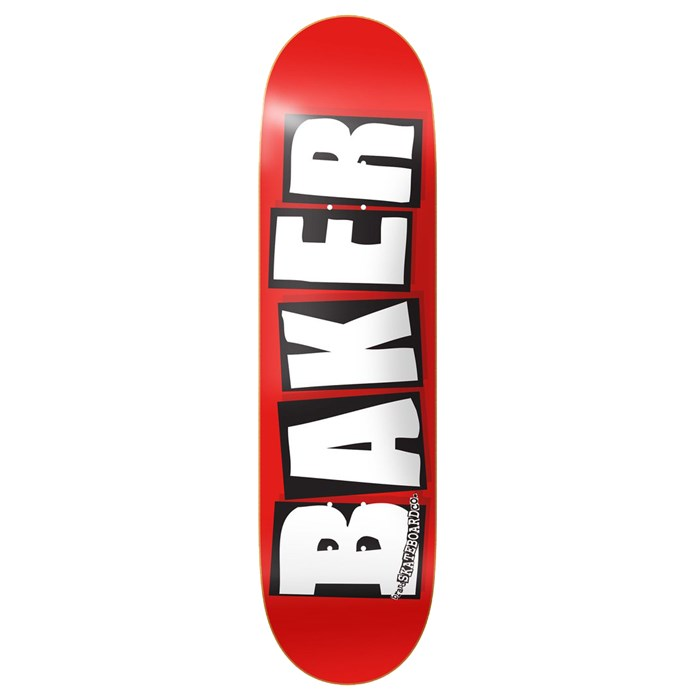 Baker - Brand Logo White 8.25 Skateboard Deck