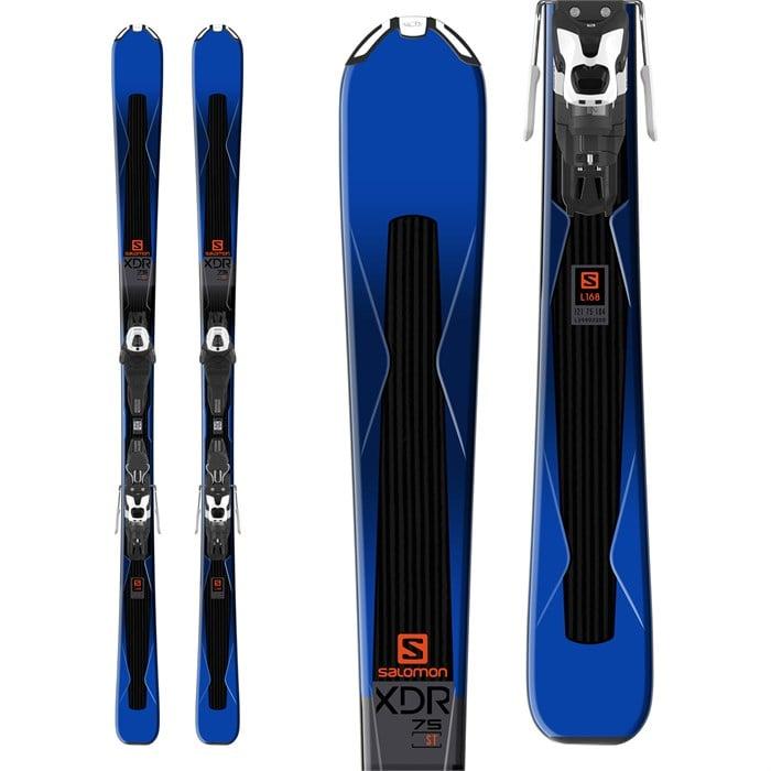 Salomon XDR 75 Skis + Lithium 10 Bindings 2018