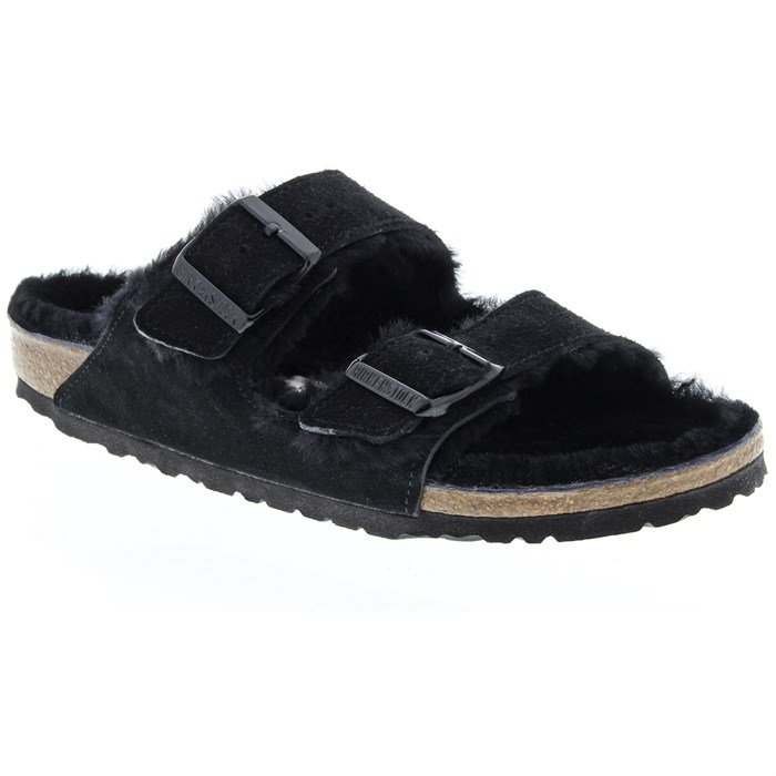 Birkenstock - Arizona Shearling Sandals - Women's