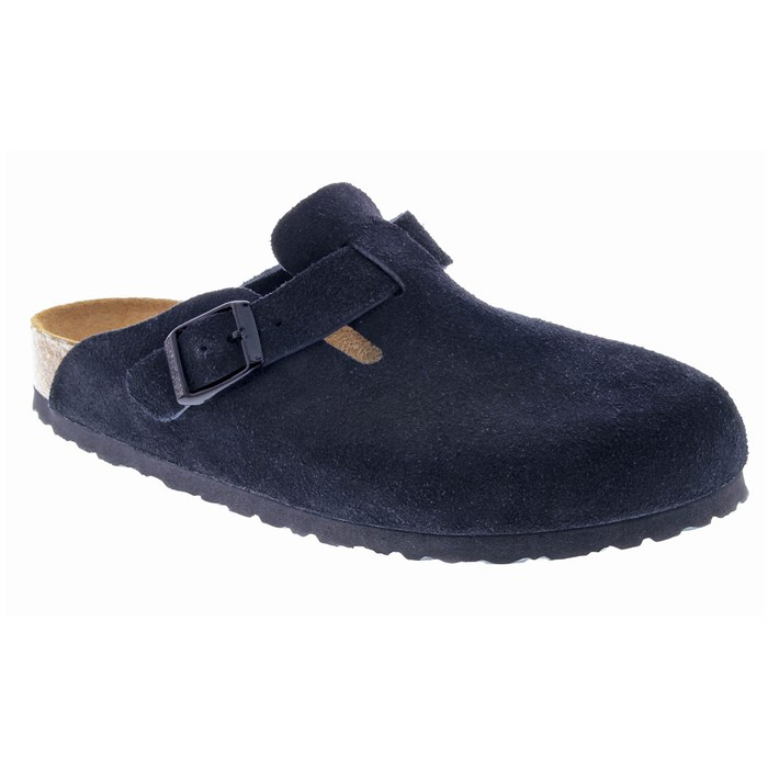 Birkenstock - Boston Soft Footbed Suede Clogs - Women's