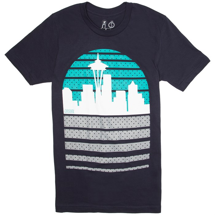Casual Industrees - Seattle Skyline T-Shirt