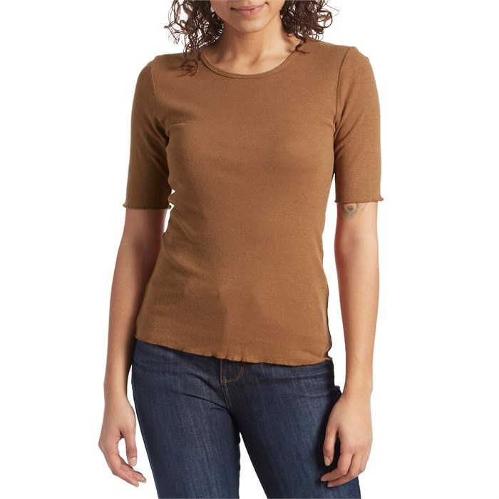 Mollusk - Hemp Rib T-Shirt - Women's
