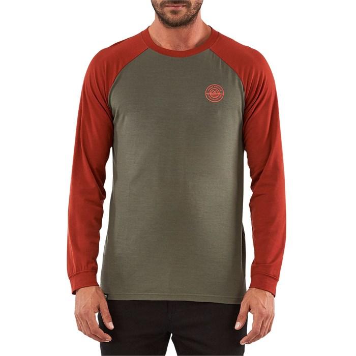 MONS ROYALE - Icon Raglan Long-Sleeve Shirt