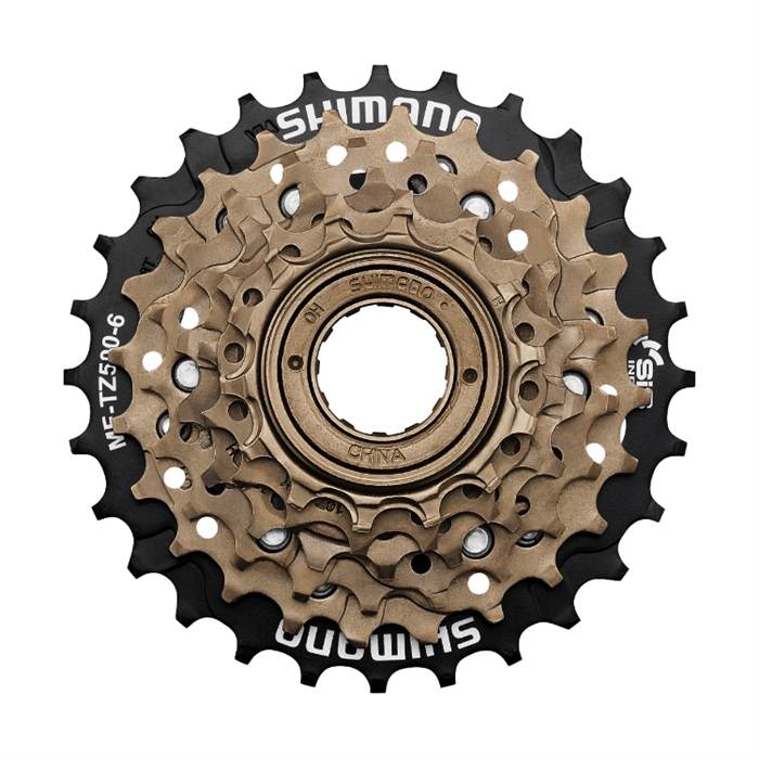 Shimano - TZ500 6-Speed Freewheel