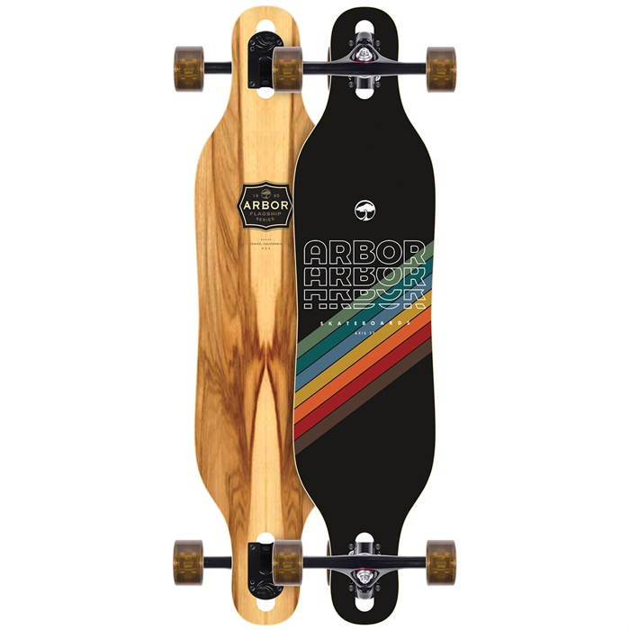 """Arbor - Axis Flagship Limited 37"""" Longboard Complete"""
