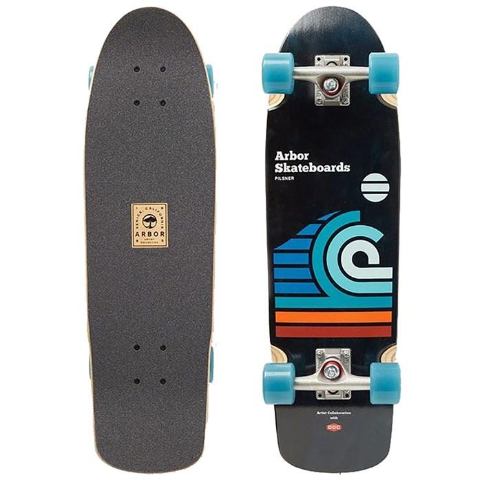Arbor - Pilsner Artist Draplin Cruiser Skateboard Complete