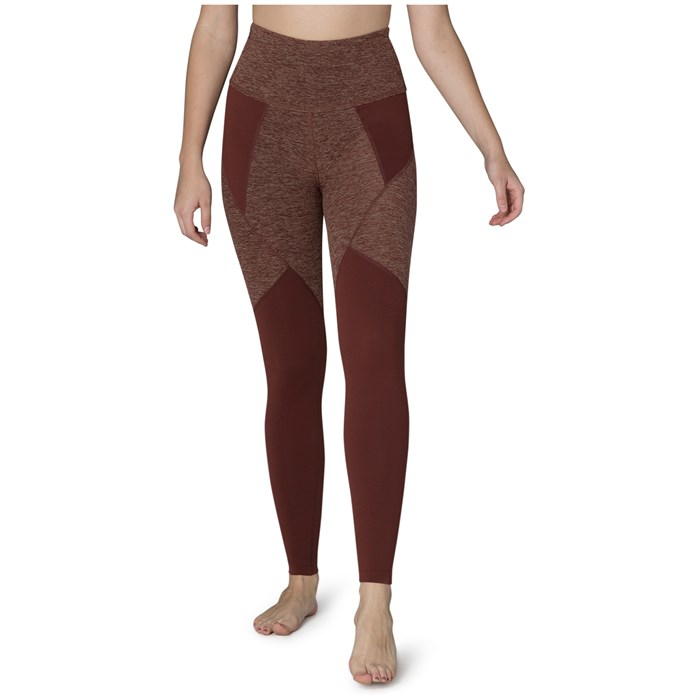 Beyond Yoga - Spacedye Paneled High Waisted Long Leggings - Women's