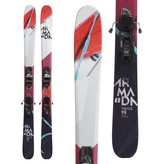 Armada Trace 98 Skis + Marker Squire Demo Bindings