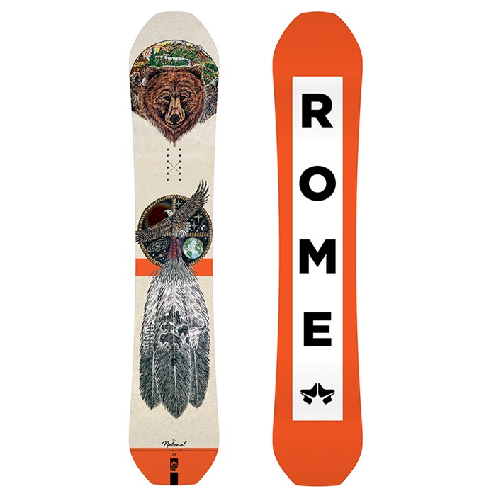 Rome - National Bjorn Snowboard 2019