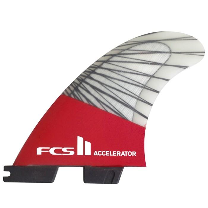 FCS - II Accelerator PC Carbon Small Tri Fin Set