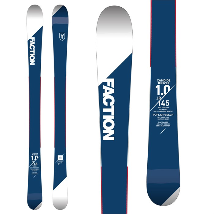 Faction - Candide 1.0 Jr. Skis - Boys' 2018