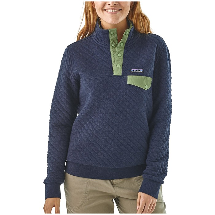 Patagonia Organic Cotton Quilt Snap T Pullover Women S Evo