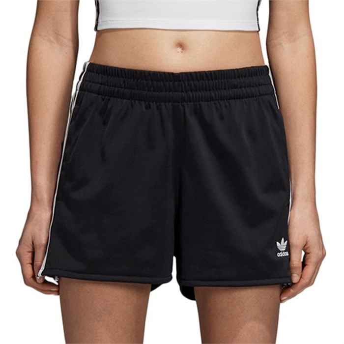 adidas 3 stripes shorts womens