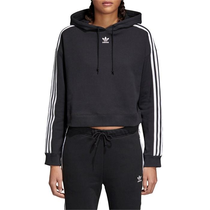 036bfd4ca3c9 Adidas - Crop Hoodie - Women s ...