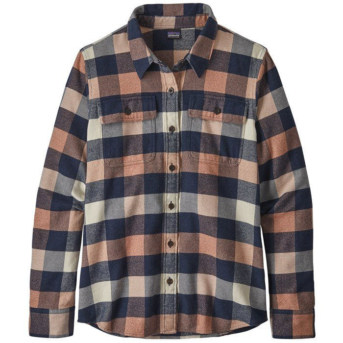 Patagonia - Long-Sleeve Fjord Flannel Shirt - Women's