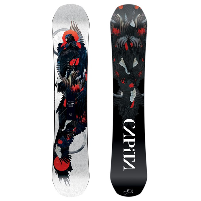 2492c6b65703 CAPiTA - Birds of a Feather Snowboard - Women s 2019