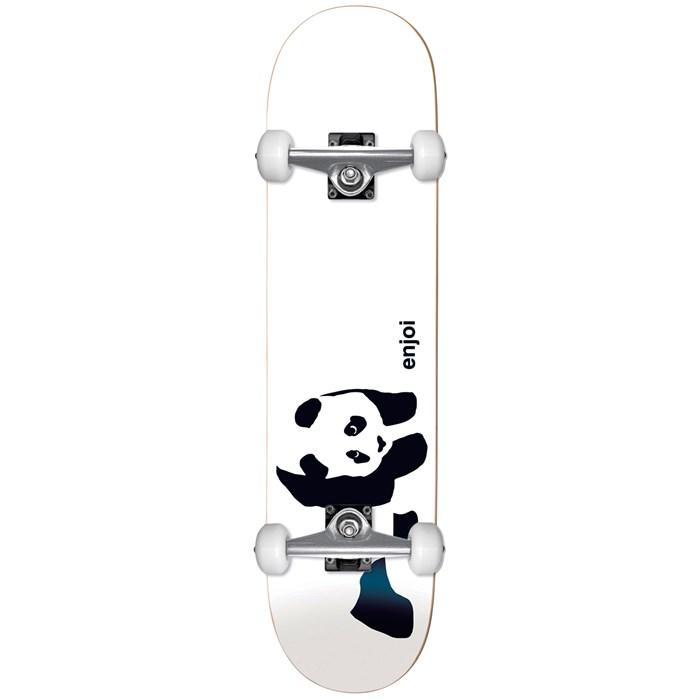 Enjoi - Panda Soft Top 6.75 Skateboard Complete - Little Kids'