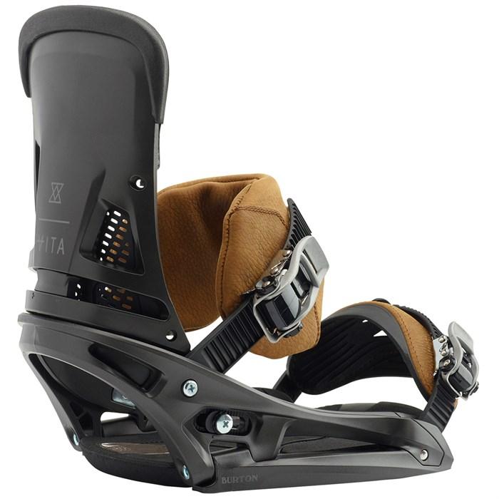 bf46ad3c264 Burton - Malavita EST Leather Snowboard Bindings 2019 ...